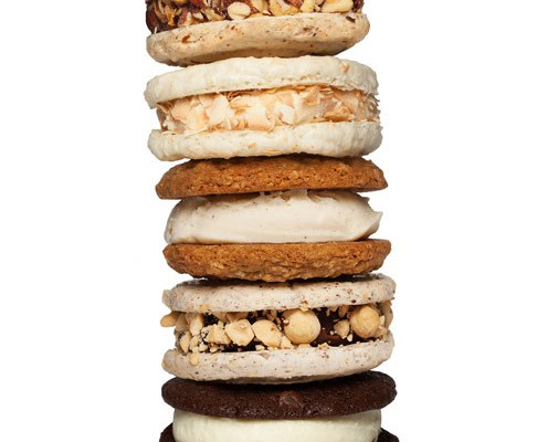Jeni's Coconut Macaroon Ice Cream Sandwich