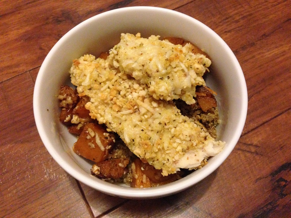 Gluten-free Breaded Asiago Tilapia