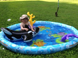 jenson swimming