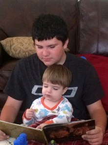 reading with gannon