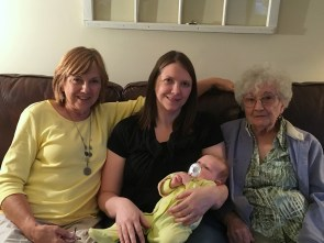 4 generations mom grandma
