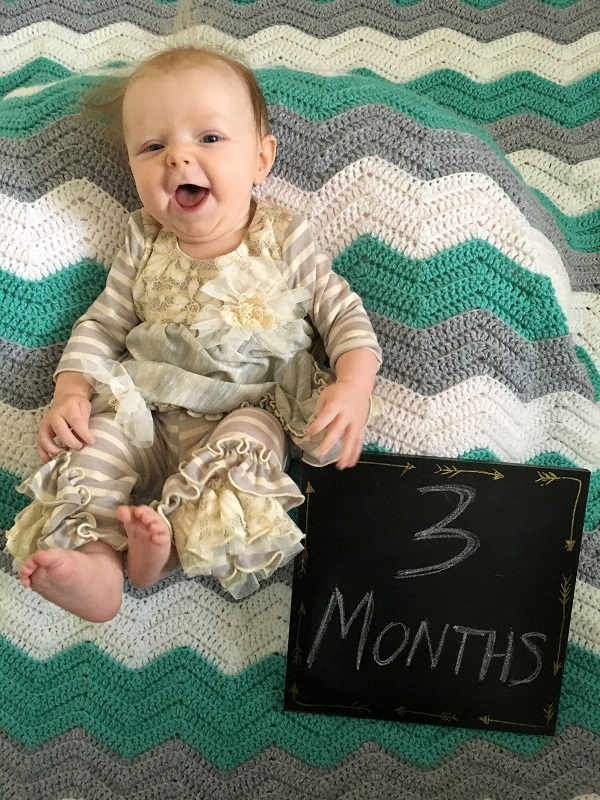 Marlowe update: Three months old