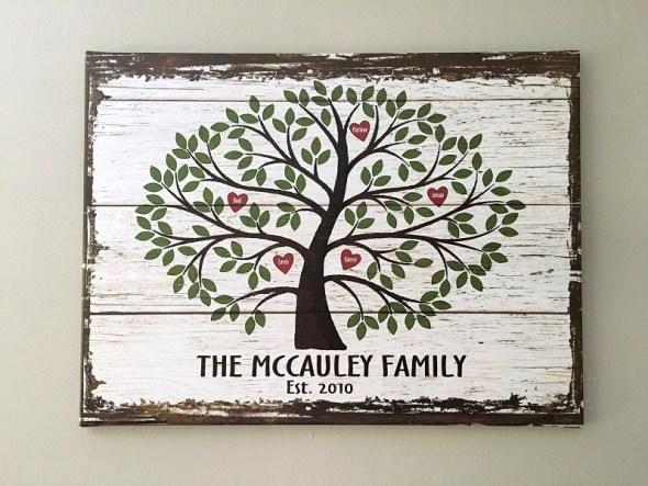 mccauley family art mothers day