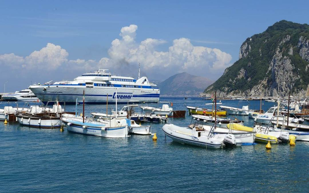 Taking The Naples To Capri Ferry All You Need To Know