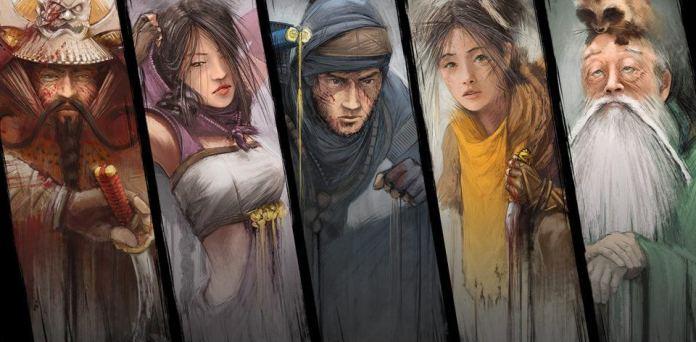 Personagens de Shadow Tactics