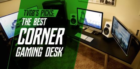 The Best Corner Gaming Computer Desk for Your PC and Console Setup