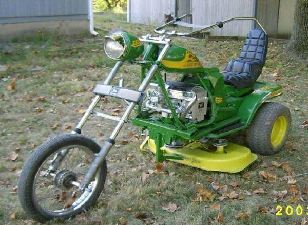 Redneck lawn mower