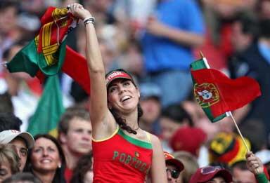Portuguese fan