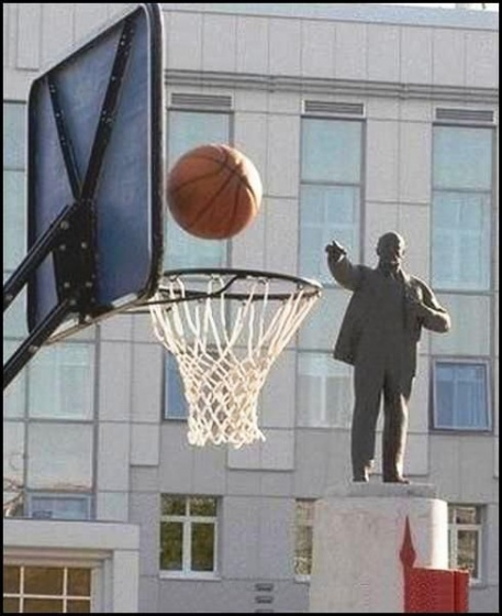 Who knew Lenin could shoot?