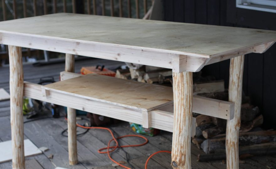 Rustic Standing Desk Design — Under $100 and Easy to Build