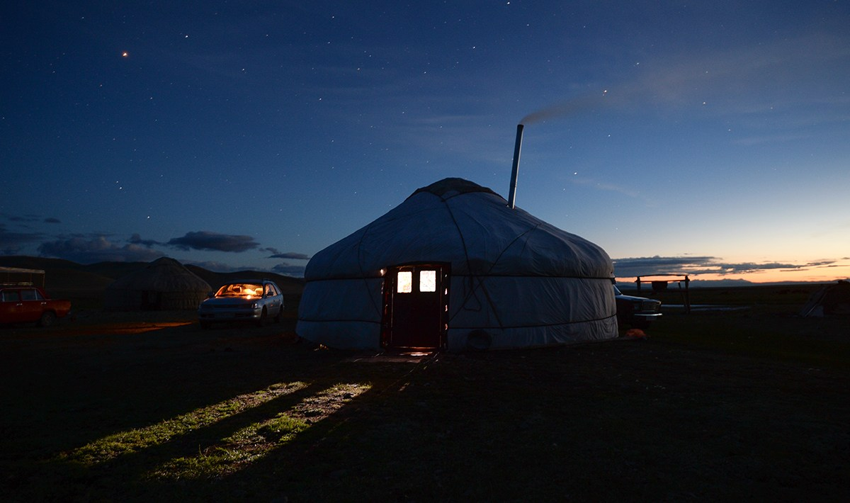 Photo of Altai yurt