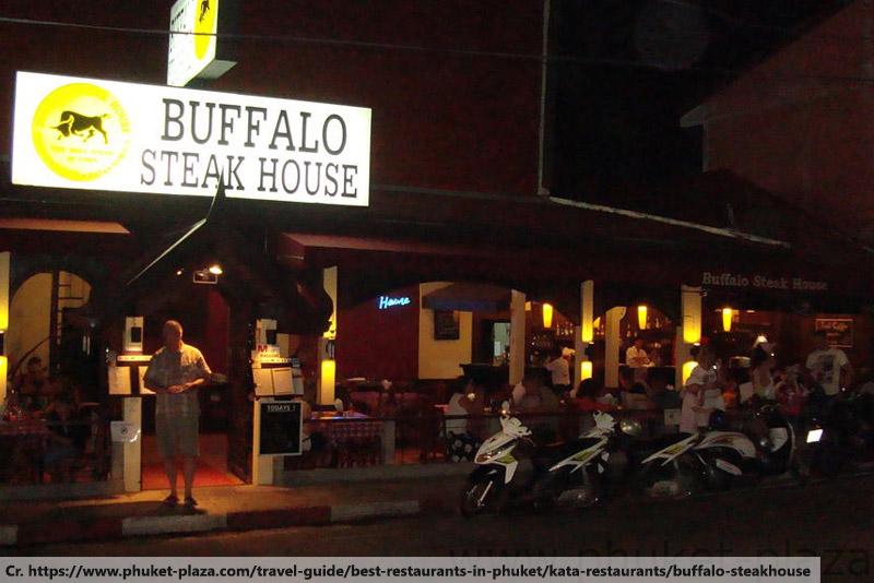buffalo steak house karon