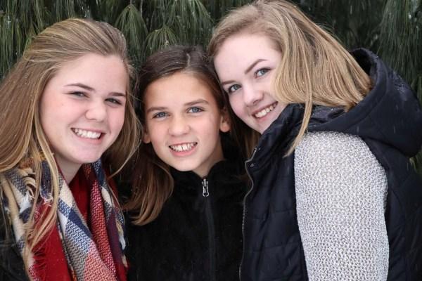 Riley, Breanna, Sophia