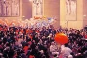 LA Cathedral dragon mass