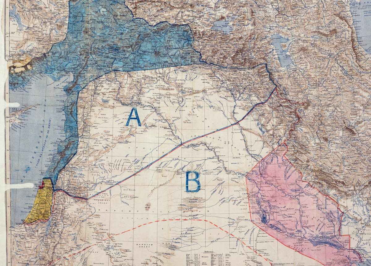 Sykes Picot and the Zionists The