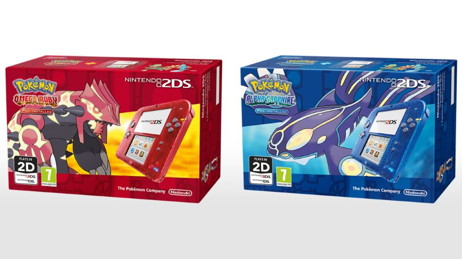 Nintendo Announce Transparent 2DS With New Pok    mon Games   The Arcade 2ds transparent 09
