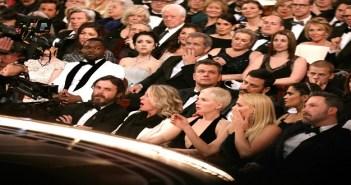 Oscar attendees look shocked