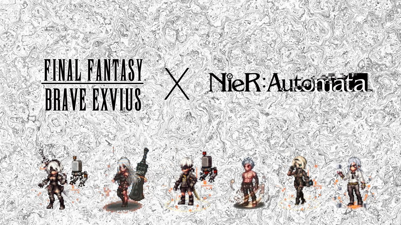 Book Cover Fantasy Brave Exvius : Final fantasy brave exvius gets nier automata crossover