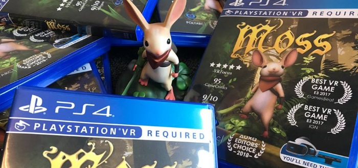 Moss Gets A Physical Release This June