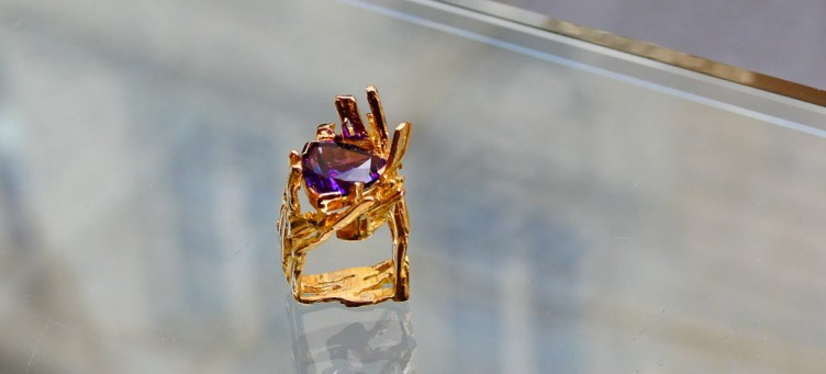 a ring by Thierry Vendome
