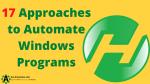 Automate Windows Programs with AutoHotkey