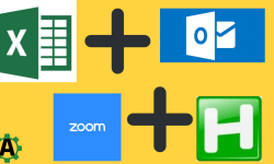 excel outlook and zoom