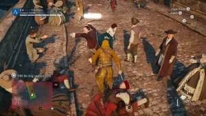 assassins creed unity fighting