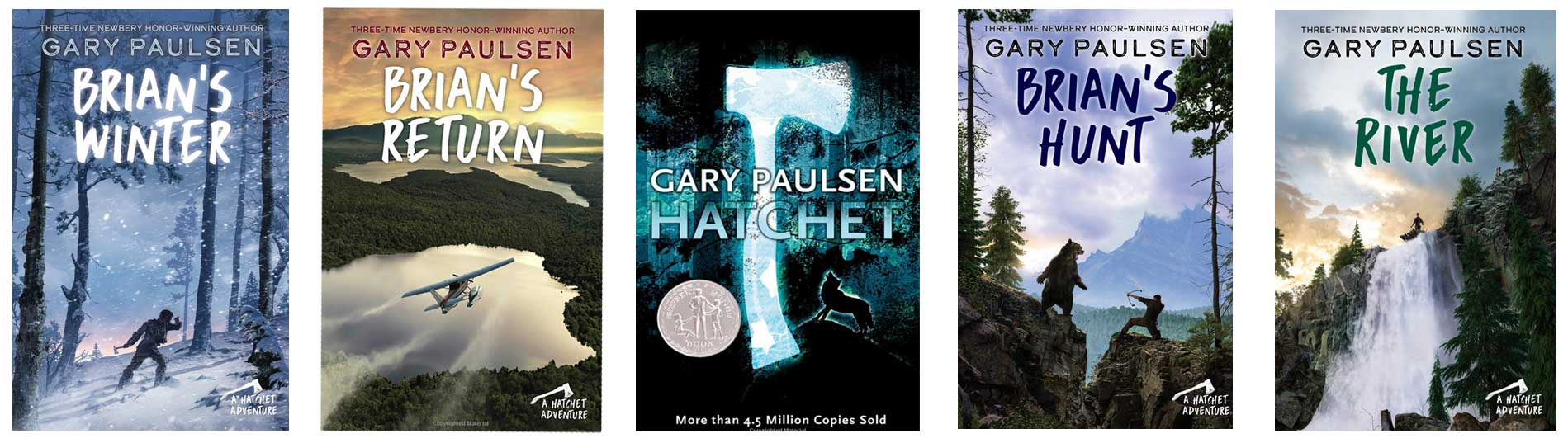Hatchet And Other Books In Gary Paulsen S The Brian Saga