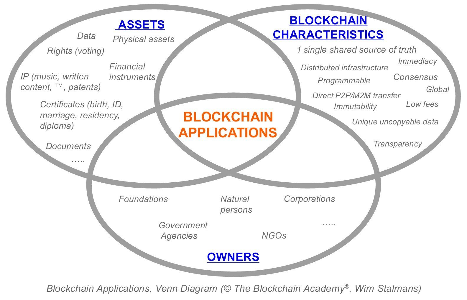 Blockchain Applications Think For Yourself