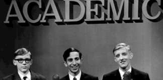 1967 photo from the It's Academic game show