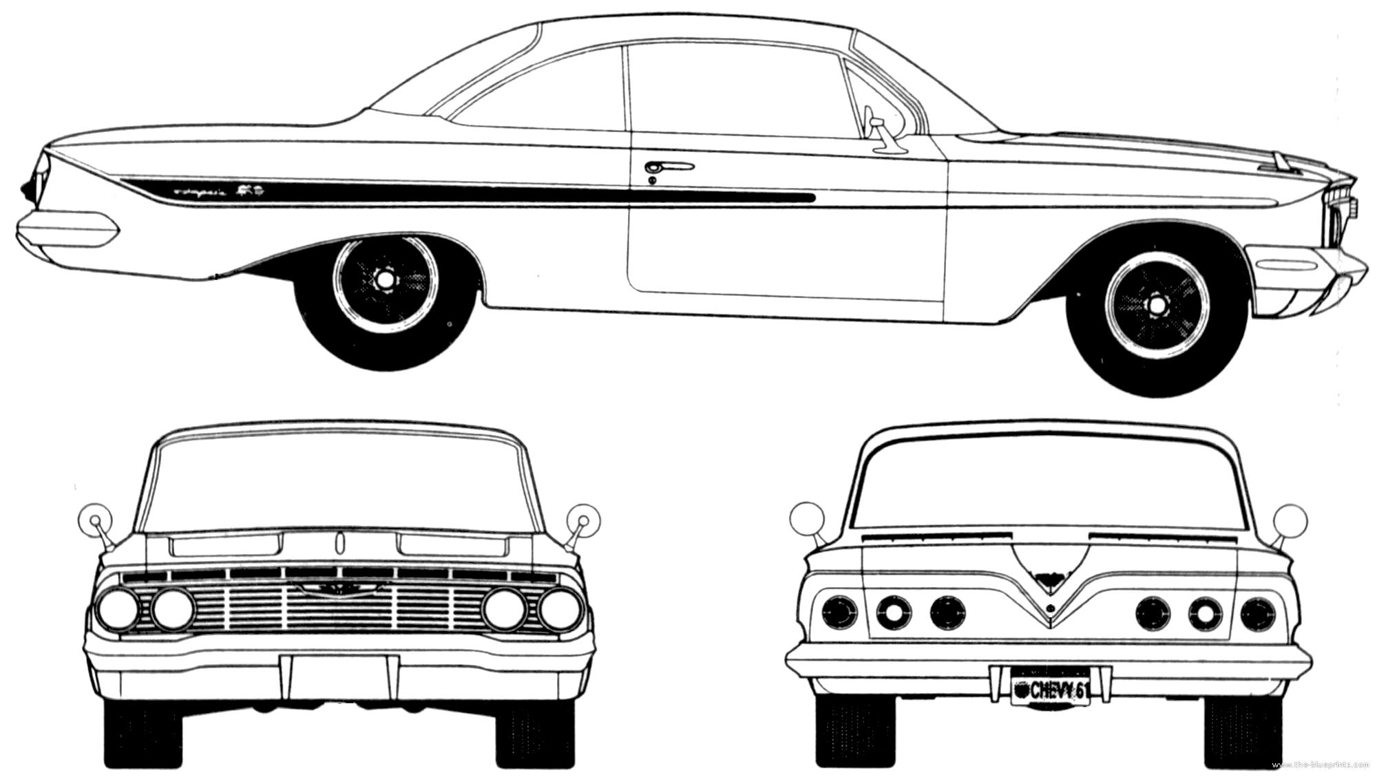 Blueprints Gt Cars Gt Chevrolet Gt Chevrolet Impala Sport