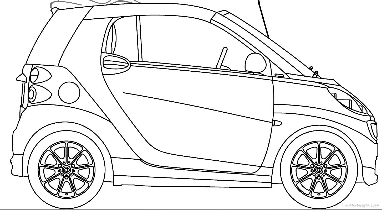 Blueprints Gt Cars Gt Smart Gt Smart Fortwo Cabrio