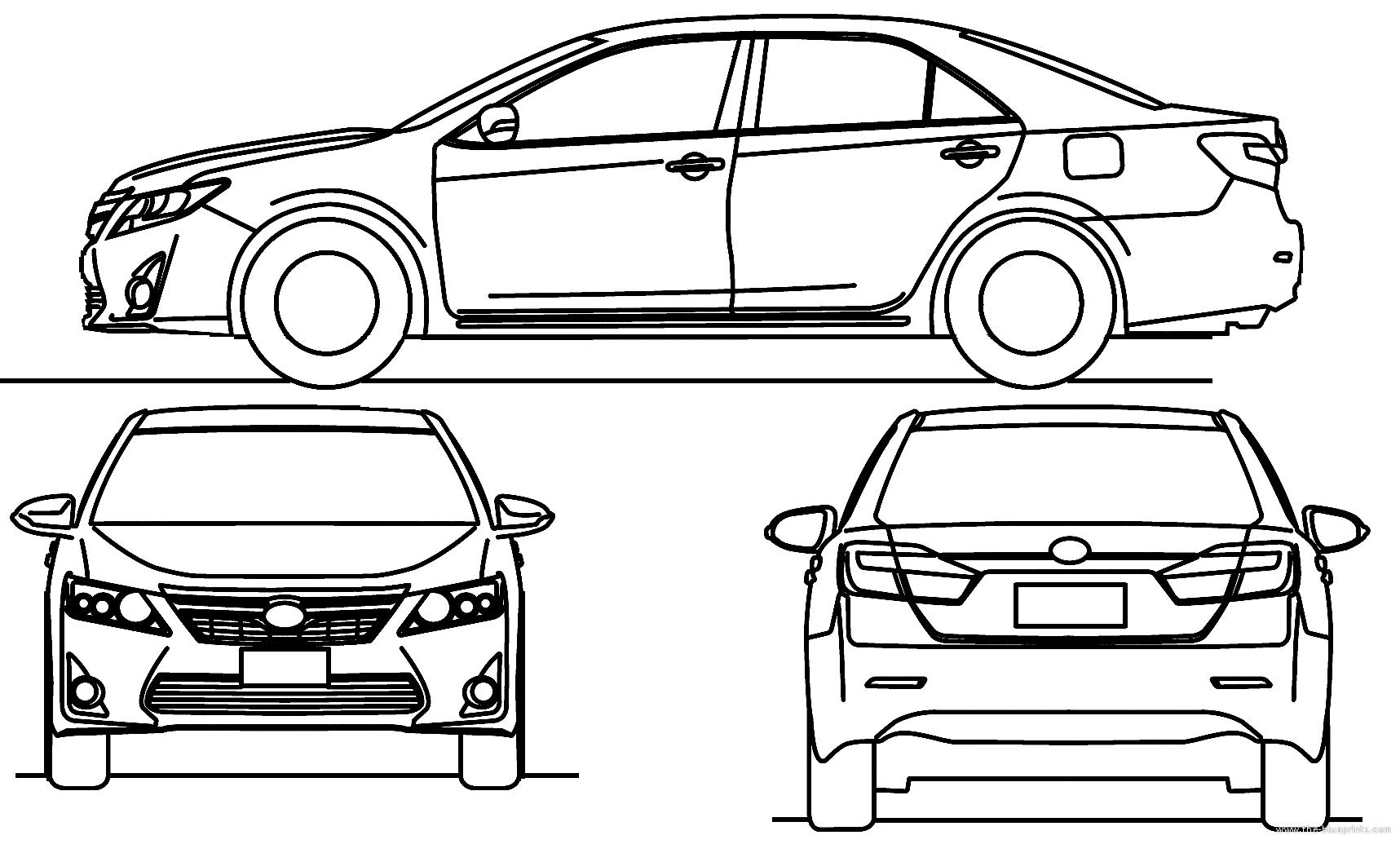 Blueprints Gt Cars Gt Toyota Gt Toyota Camry
