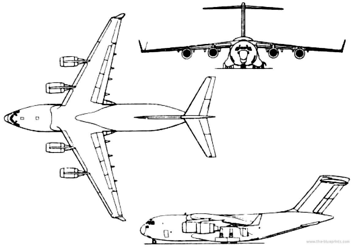 Blueprints Gt Modern Airplanes Gt Boeing Gt Boeing Mcdonnell