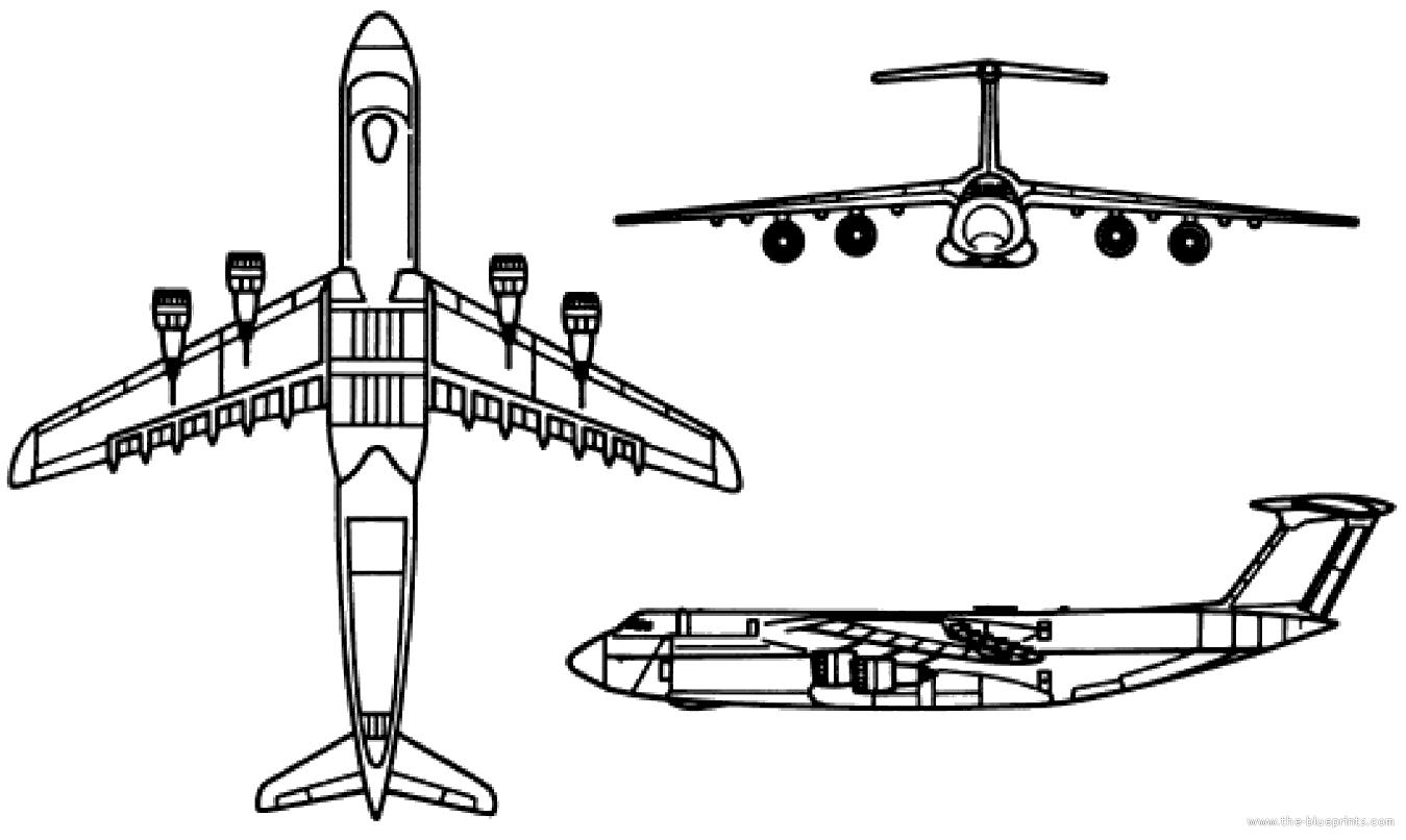 Blueprints Gt Modern Airplanes Gt Lockheed Gt Lockheed C 5 Galaxy