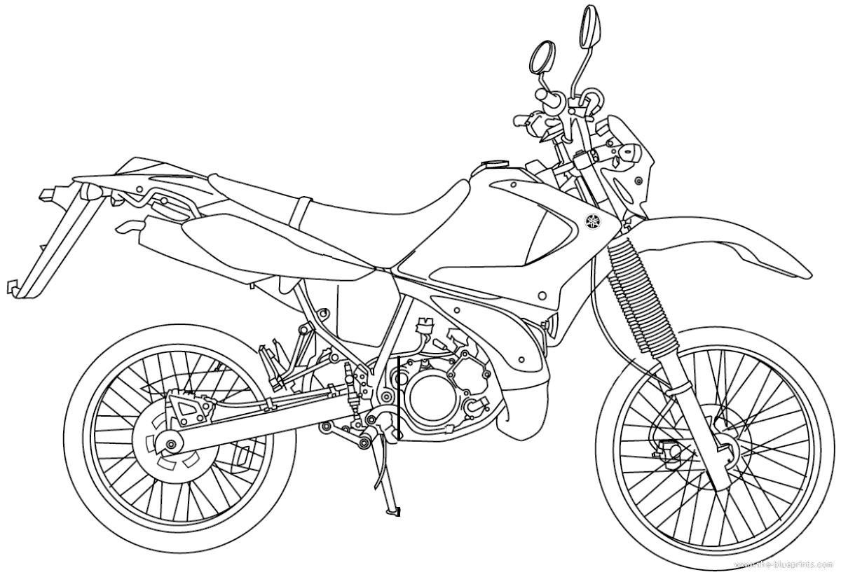 Blueprints Gt Motorcycles Gt Yamaha Gt Yamaha Dt 125r