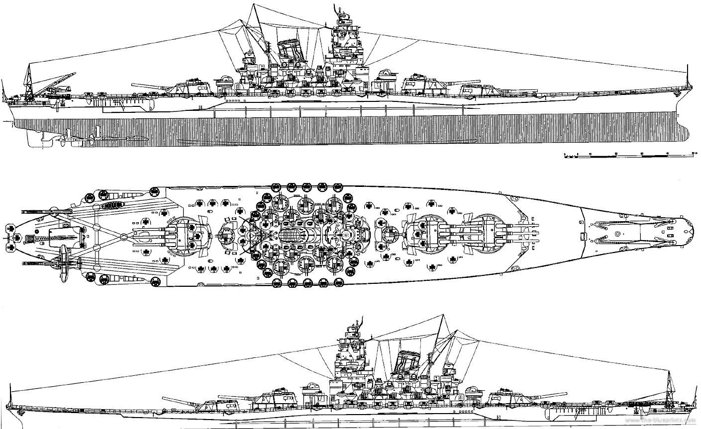 Blueprints Gt Ships Gt Ships Japan Gt Ijn Yamato
