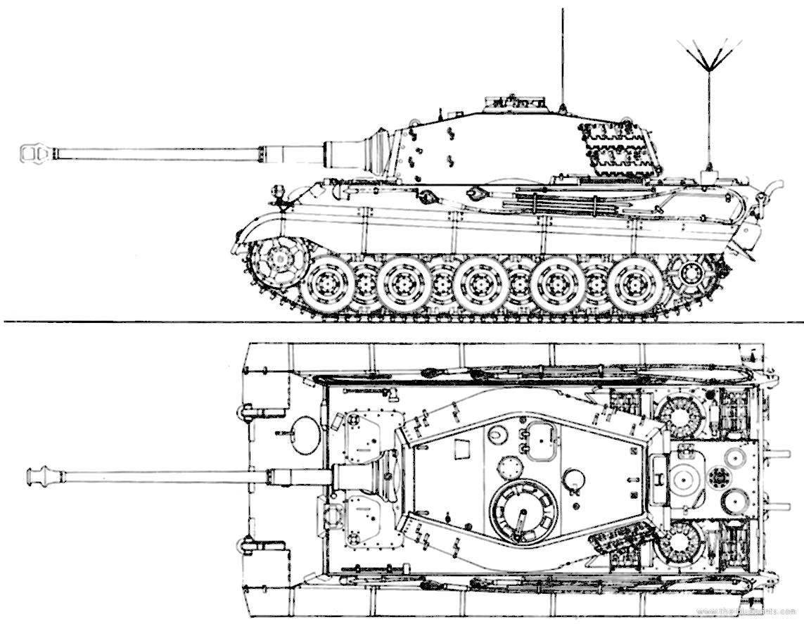 Blueprints Gt Tanks Gt Ww2 Tanks Germany 2 Gt Sd Kfz 182