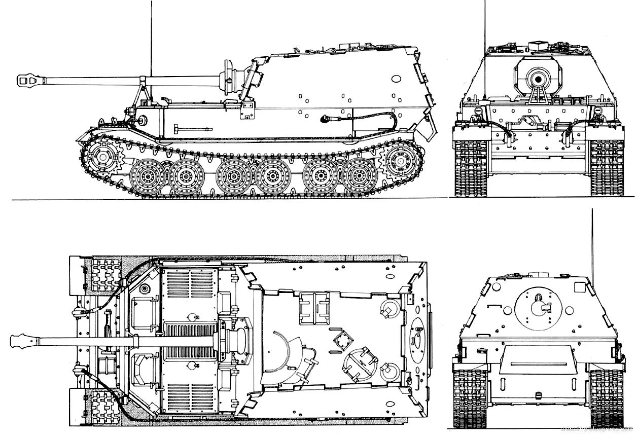 Blueprints Gt Tanks Gt Ww2 Tanks Germany 2 Gt Sd Kfz 184