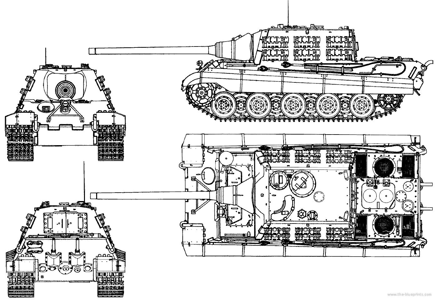 Blueprints Gt Tanks Gt Ww2 Tanks Germany 2 Gt Sd Kfz 185