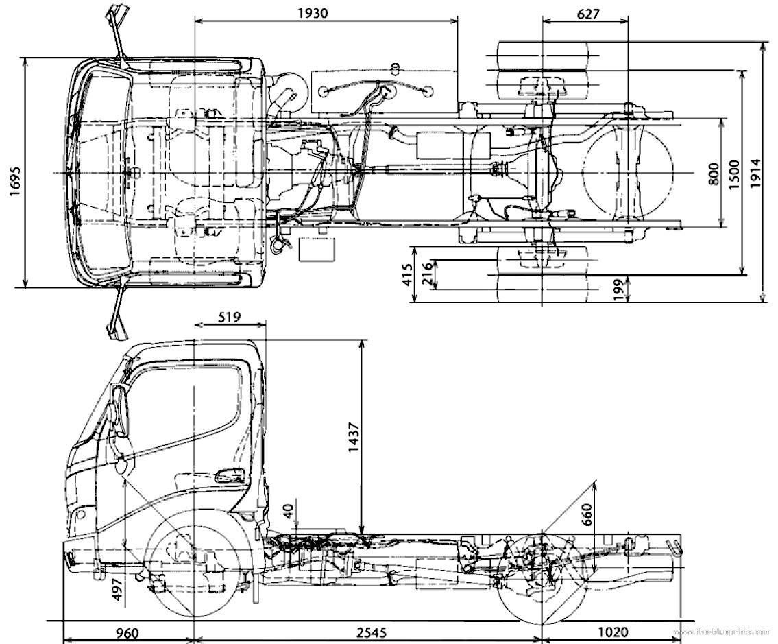 Toyota Dyna Dimensions