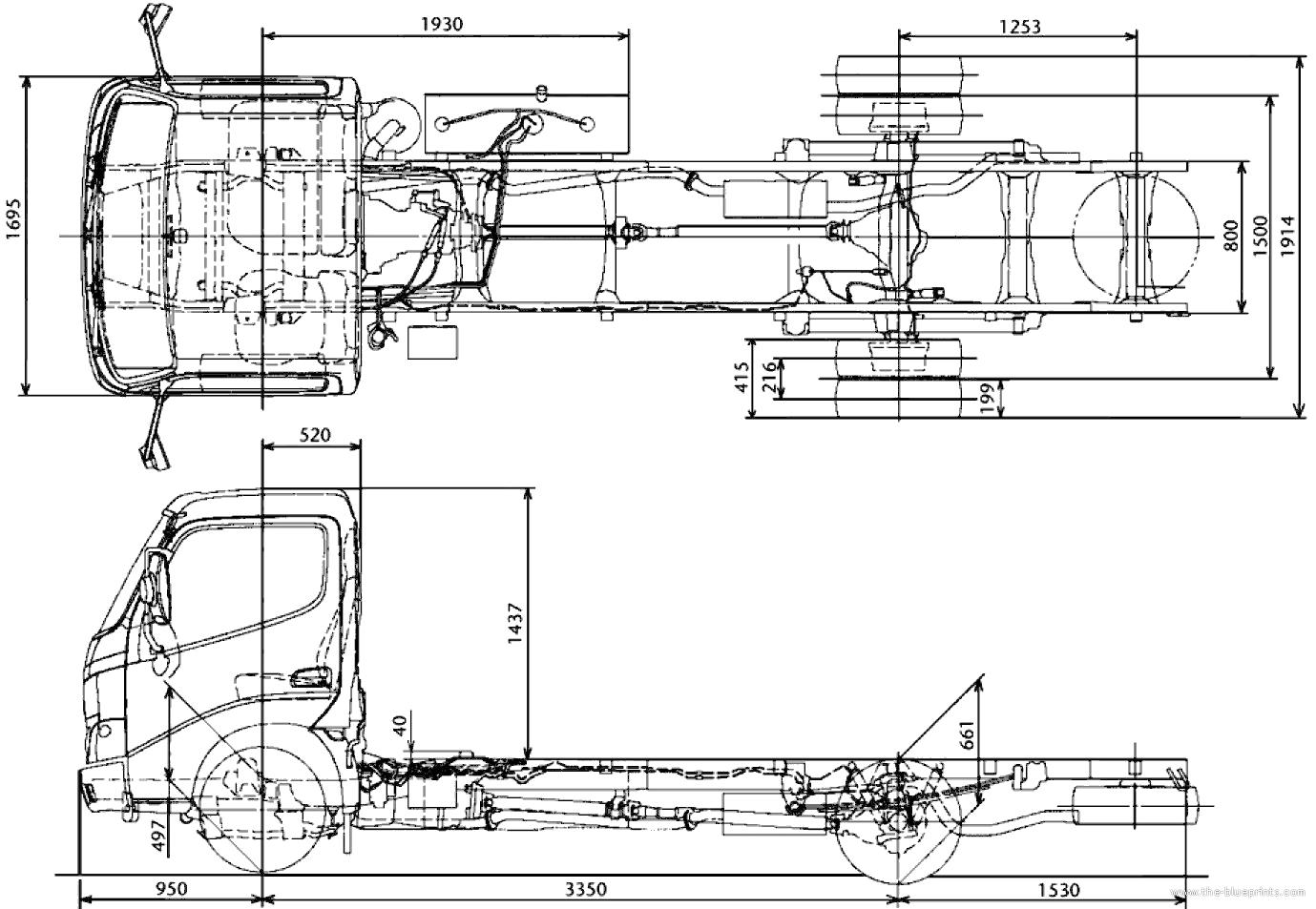 Blueprints Gt Trucks Gt Toyota Gt Toyota Dyna 150xl