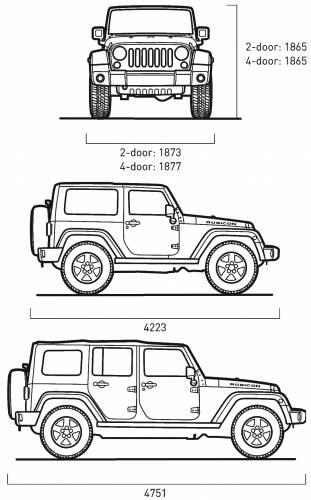 Jeep Wrangler Interior Length Brokeasshome Com