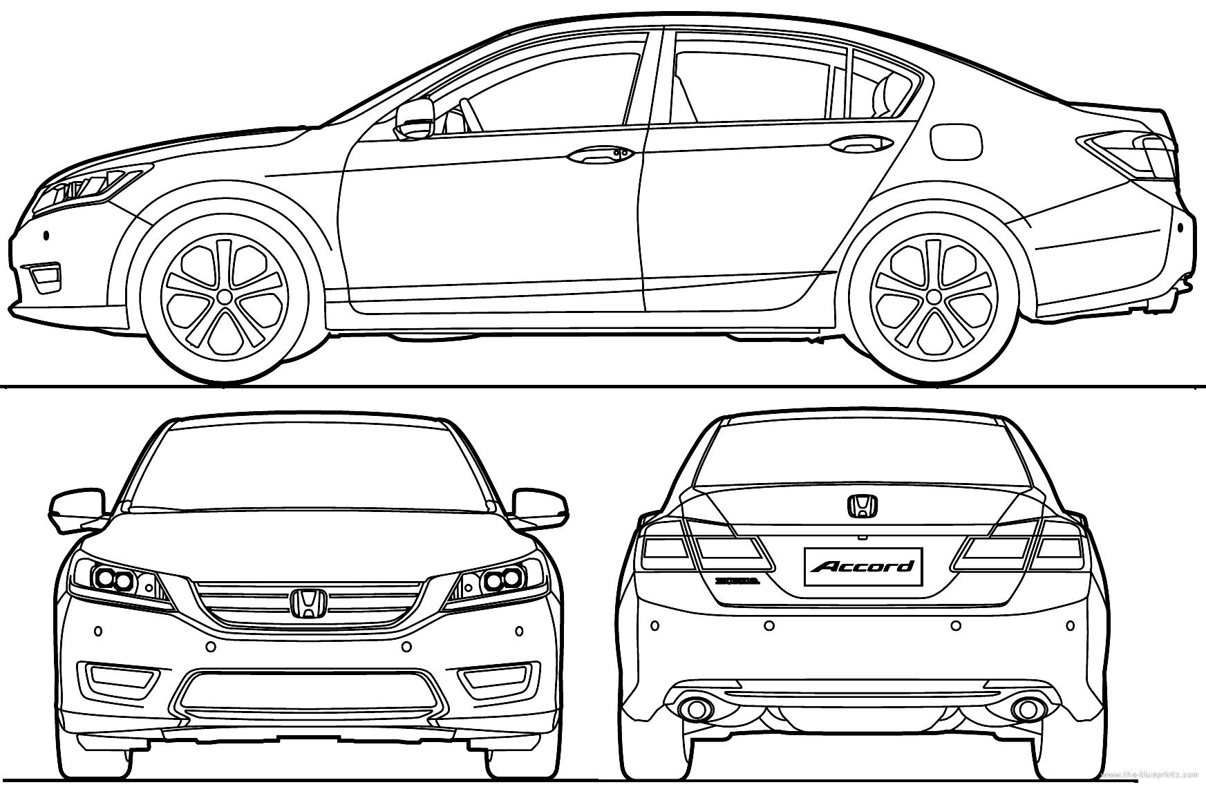 Honda Accord Sedan Smcars