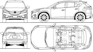 TheBlueprints  Blueprints > Cars > Mazda > Mazda CX