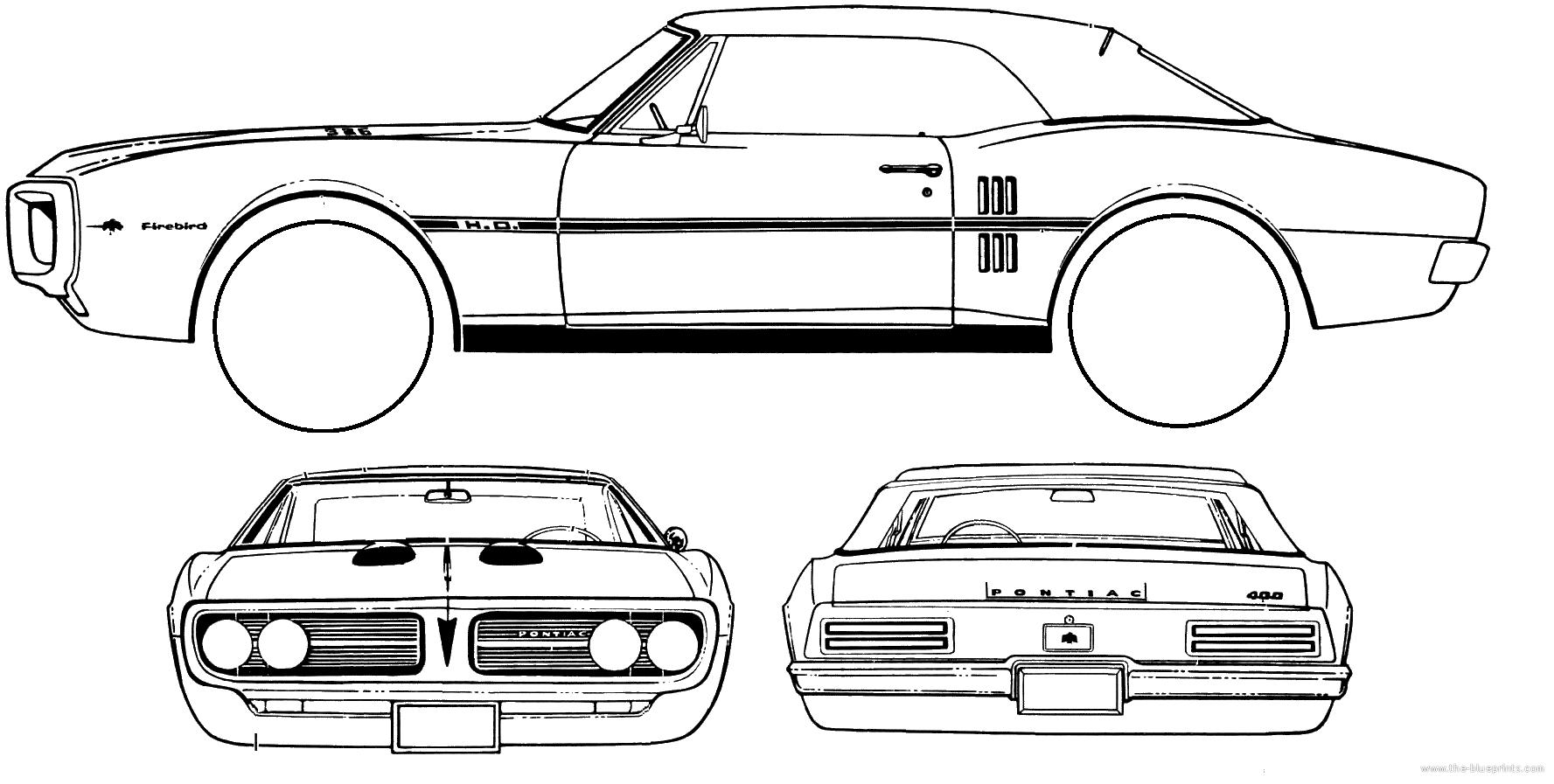 Pontiac Firebird Blueprint