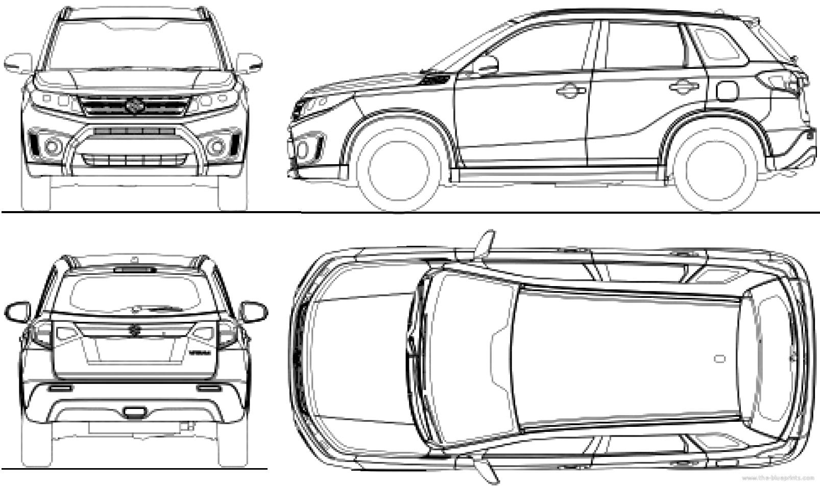 Suzuki Vitara Dimensions