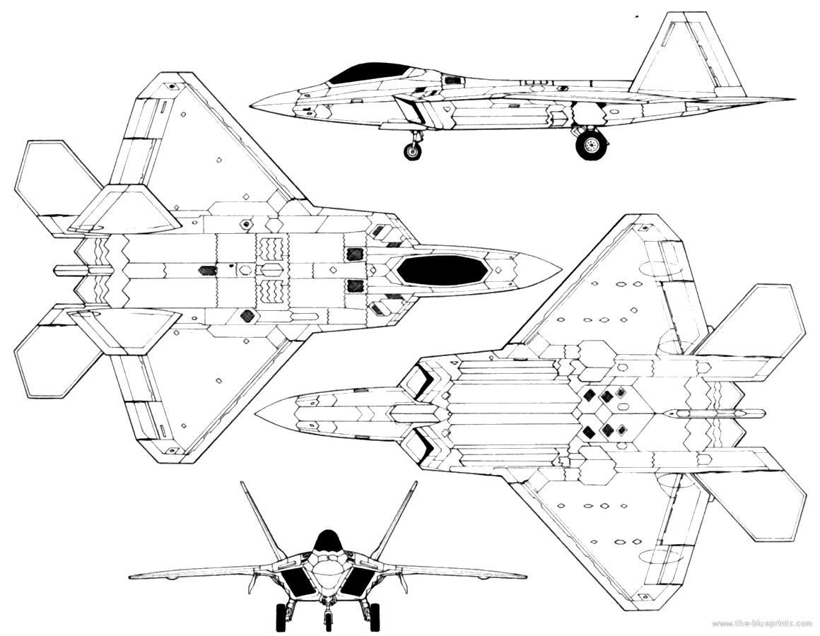 Lockheed Martin F 22 Raptor 2 900