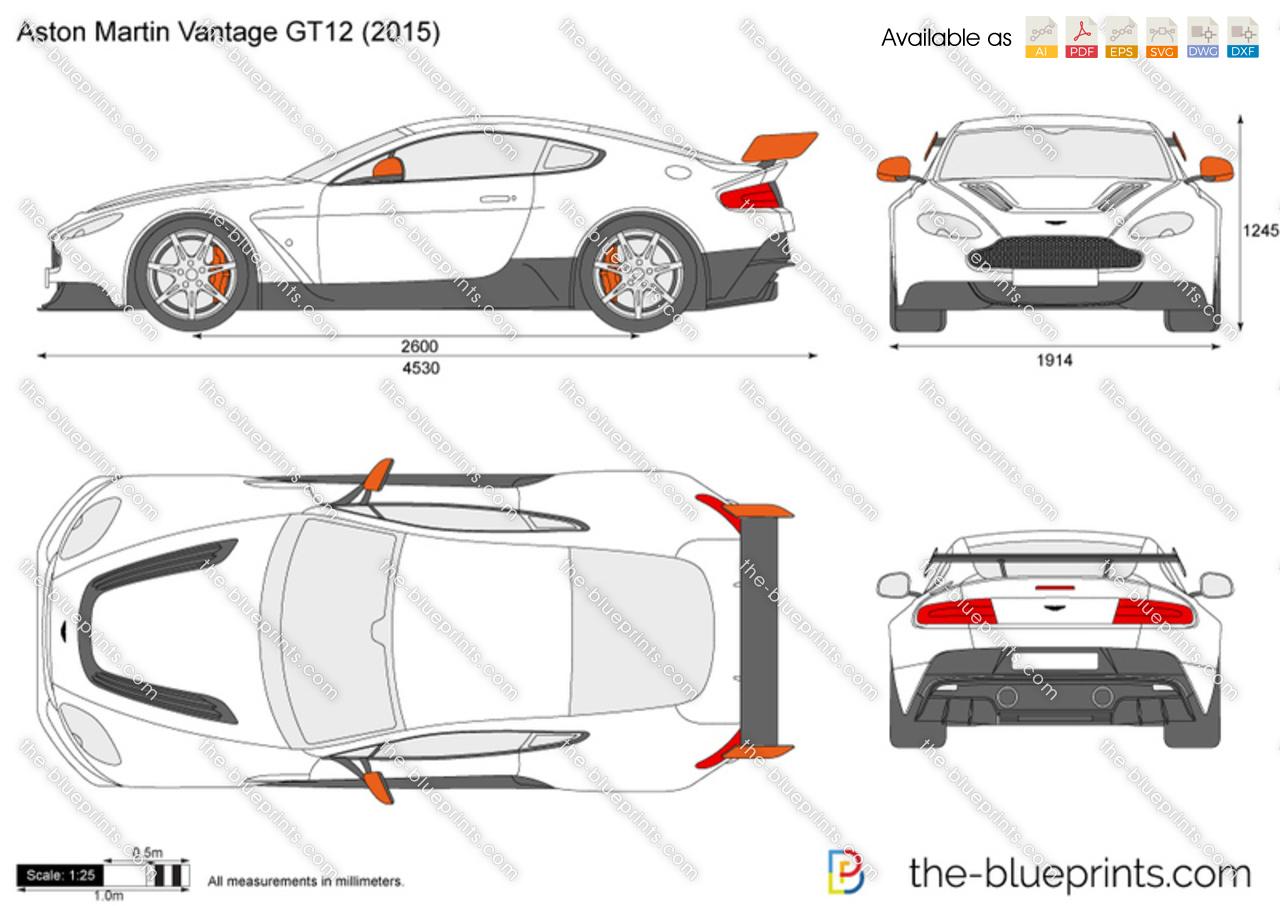 Aston Martin Blueprint La Mia Galleria Di Immagini Per Auto