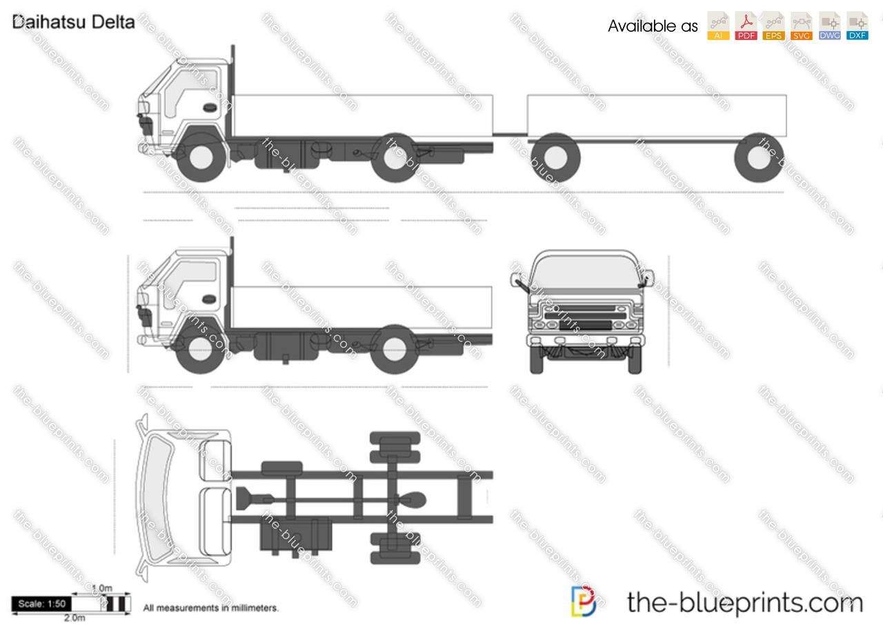 Car Blueprints Daihatsu Pictures